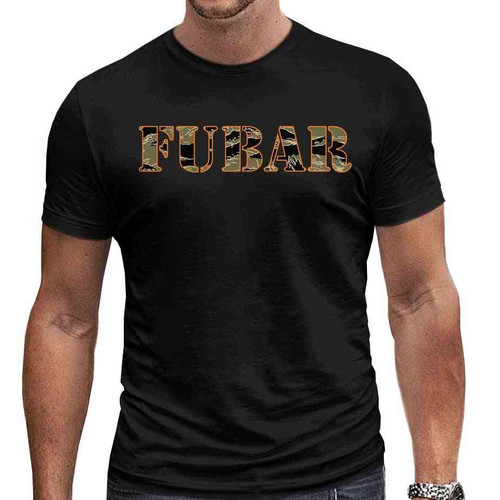 fubar special edition tshirt in black
