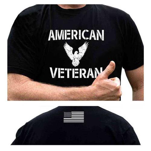us veteran tshirt american veteran and eagle