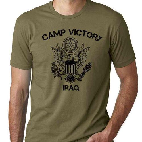 us veteran tshirt camp victory