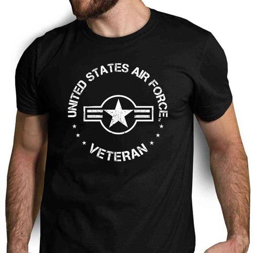 us air force veteran tshirt usaf roundel logo