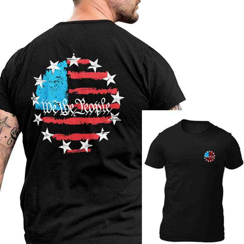 betsy ross 13star tshirt american flag