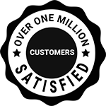 over one million happy customers