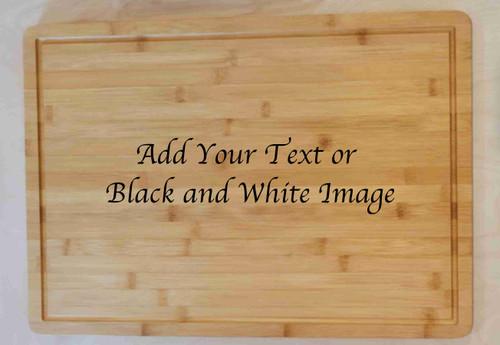 Large Bamboo Cutting board 13.5x 19.5