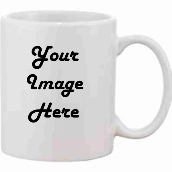11oz personalized coffee mug Full Color Upload your photo or Clip Art