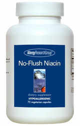 No-Flush Niacin 430 mg, 75 capsules
