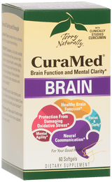 CuraMed Brain (Previously Mental Advantage™), 60 softgels
