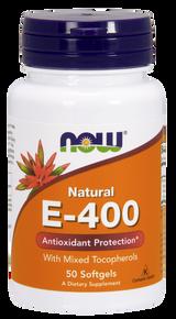 E-400 Mixed Tocopherols, 100 softgels
