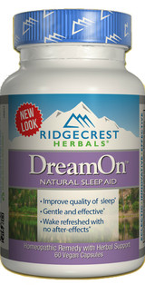 DreamOn Zen - Natural Sleep Aid, 60 capsules
