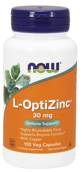 L-OptiZinc® 30 mg, 100 capsules