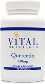 Quercetin 250 mg, 100 capsules