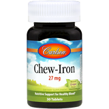 Chew-Iron 27 mg, 30 tablets