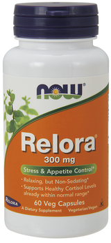 Relora 300 mg, 60 vegetable capsules
