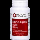 Alpha-Lipoic Acid 600 mg, 60 vcaps