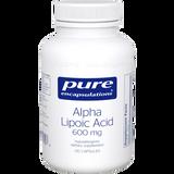 Alpha Lipoic Acid 600 mg, 120 vcaps