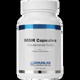 MSM Capsules Fundamental Sulfur, 100 caps