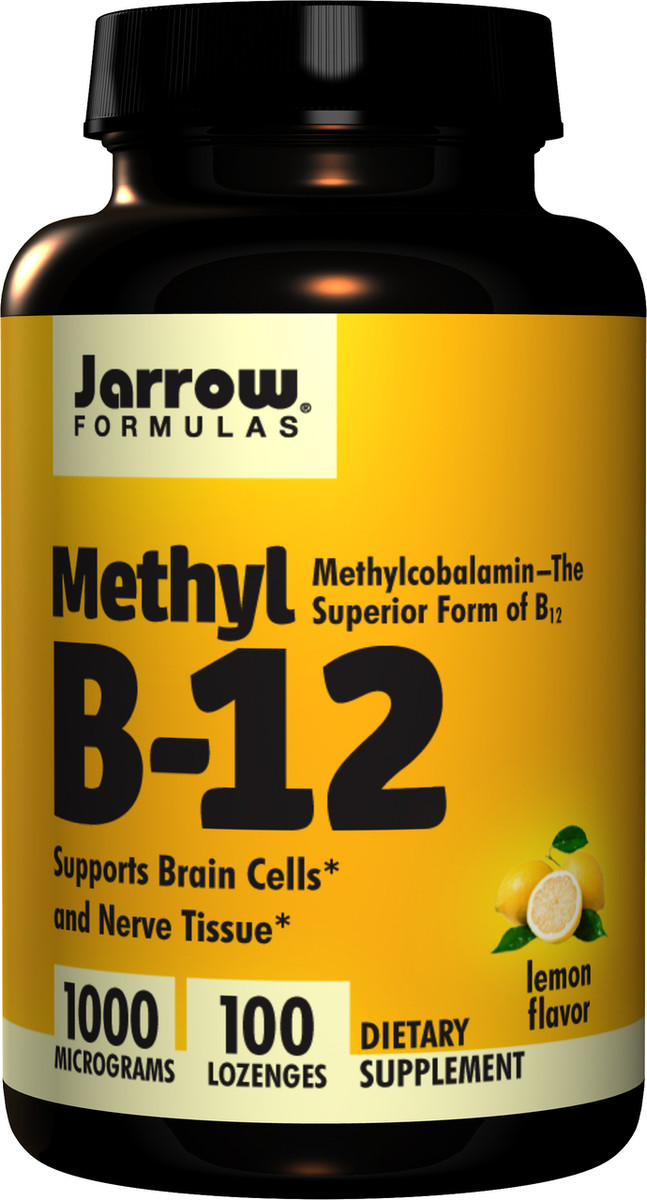 Methyl B-12 1000, 100 lozenges