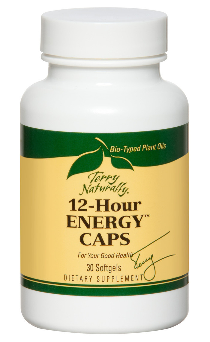 12-Hour Energy Caps, 30 softgels