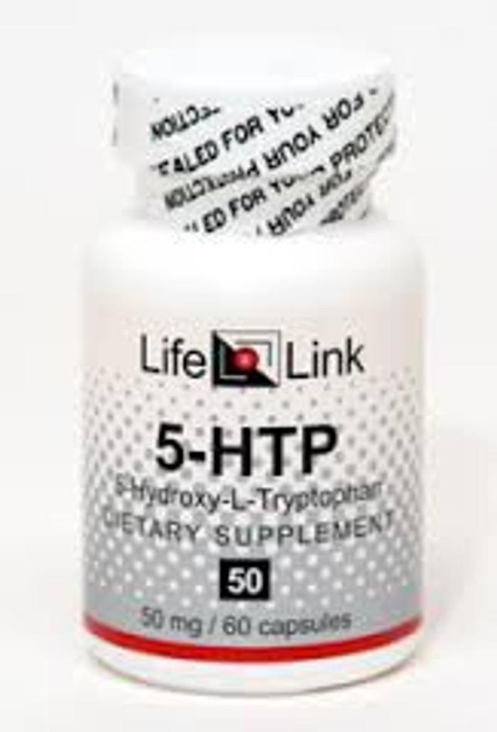 5-HTP 50 (by LLK), 120 capsules