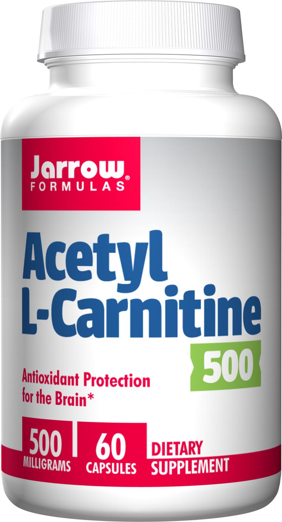 Acetyl L-Carnitine 500, 60 vcaps