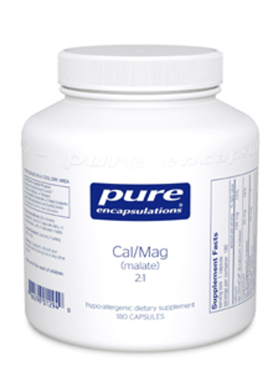 Cal/Mag (malate) 2:1, 180 capsules