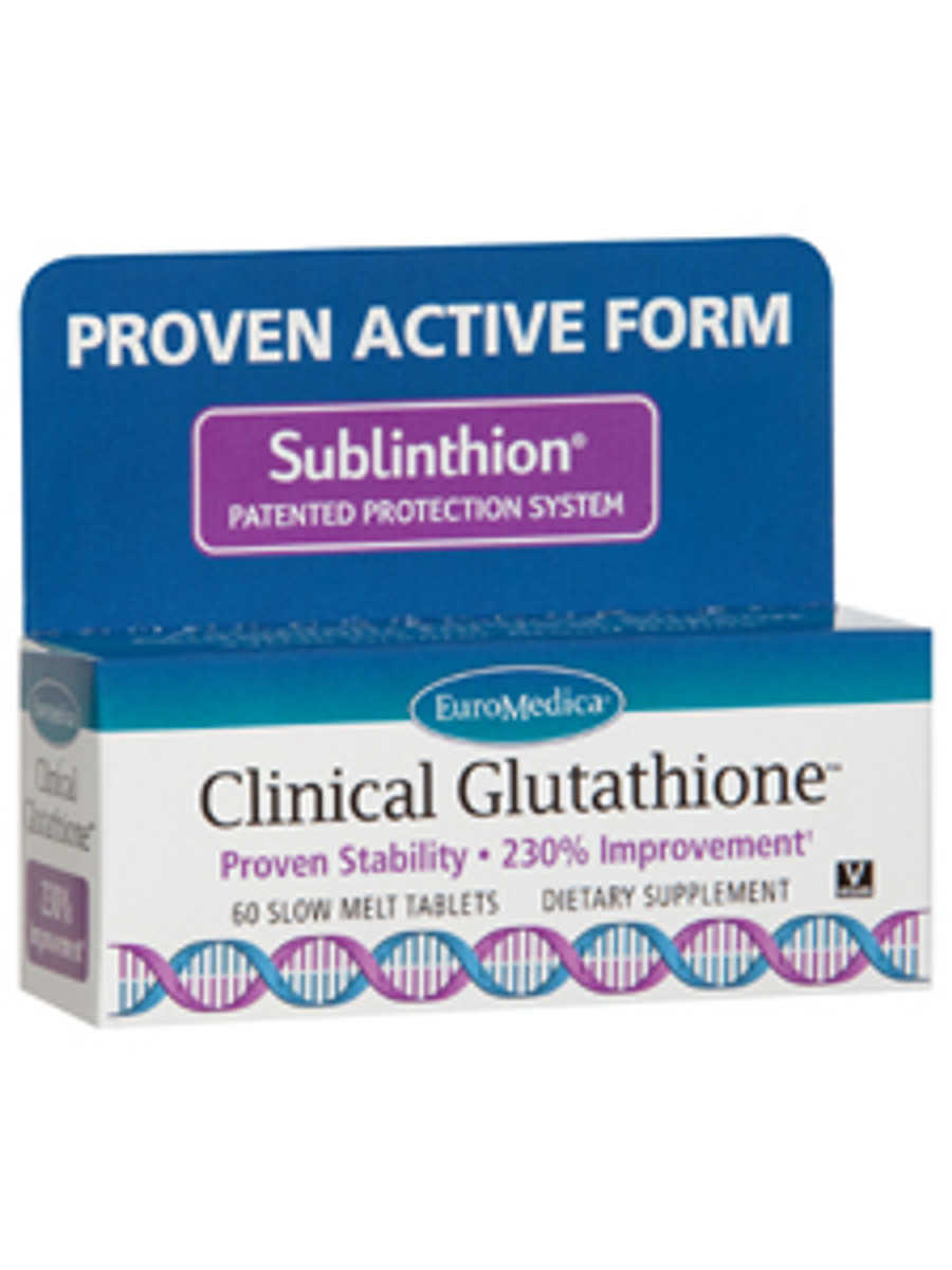 Clinical Glutathione, 60 tablets
