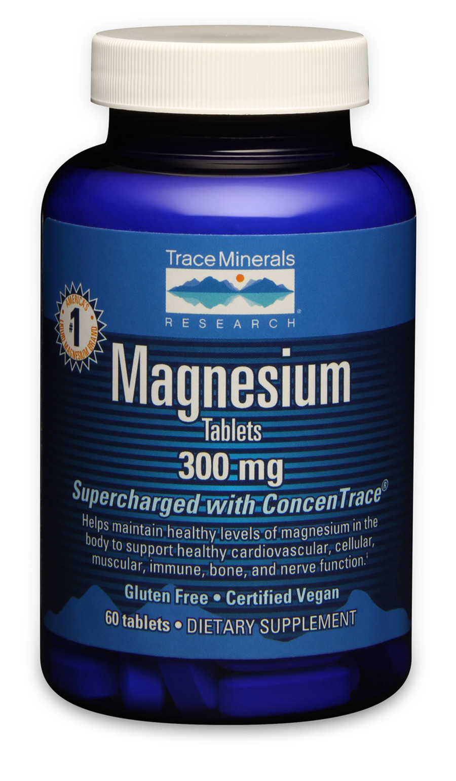 Magnesium Tablets, 60 tablets