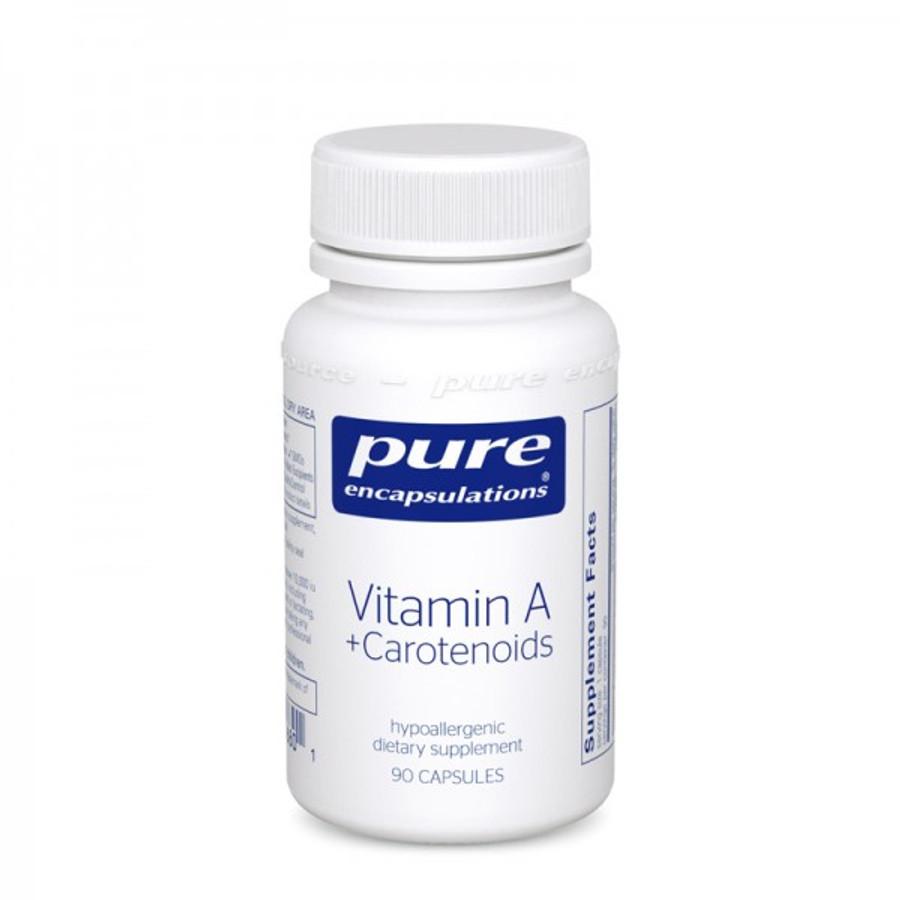 Vitamin A + Carotenoids, 90 caps