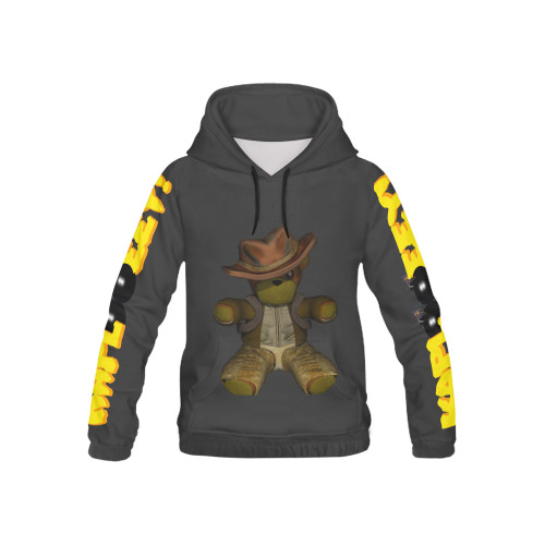 Kap Archeologist Kid's All-Over-Print Pullover Hoodie