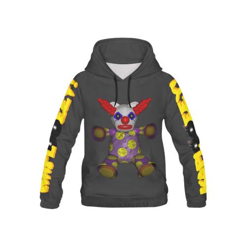 Kap Clown Kid's All-Over-Print Pullover Hoodie
