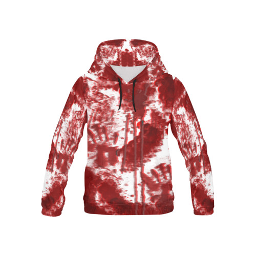 Bloody Mess Kids's All-Over-Print Pullover Hoodie