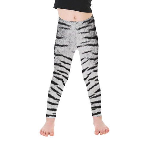 White Bengal Kid's Leggings