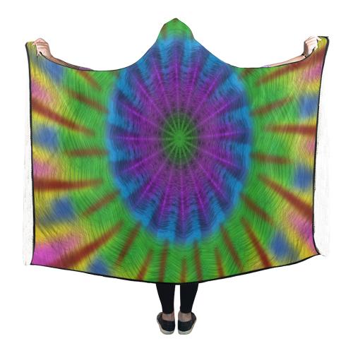 In Plume Hooded Blanket