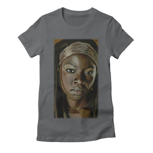 Michonne Womens Fitted Tee