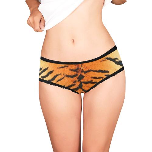 Orange Tiger Women's Briefs