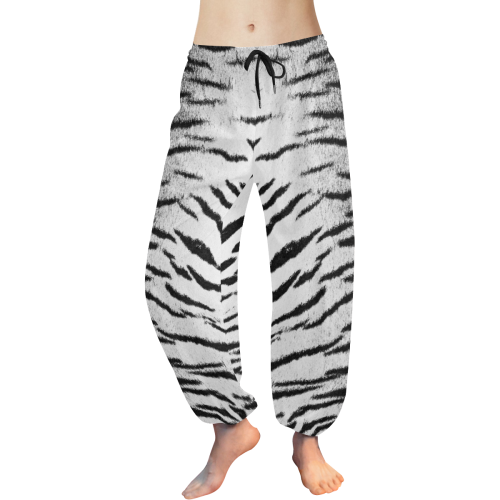 White Tiger Sleep Pants