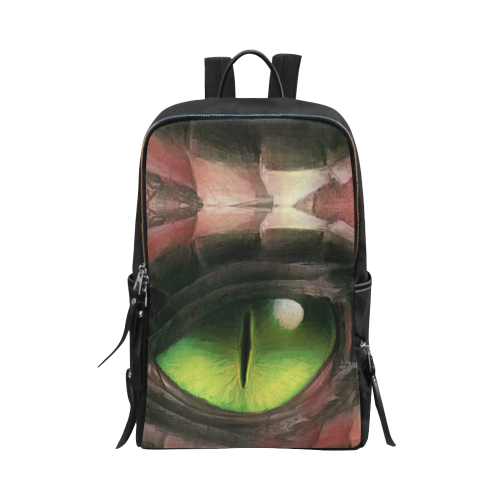Red Dragon Eye Unisex Slim Backpack
