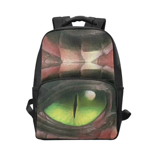 Red Dragon Eye Unisex Laptop Backpack