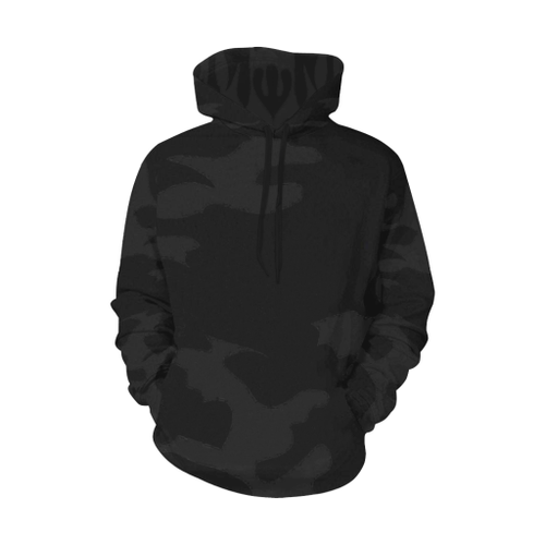 Camo Men's All-Over-Print Pullover Hoodie