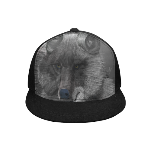 Wolf Moon Snapback Cap