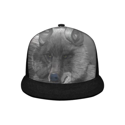 Wolf Moon Trucker Cap