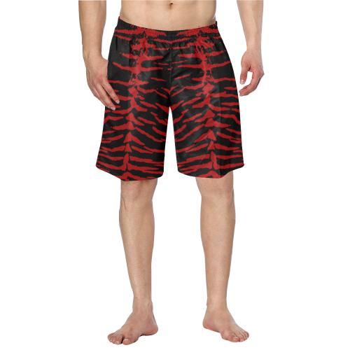 Red Tiger Swim Trunks