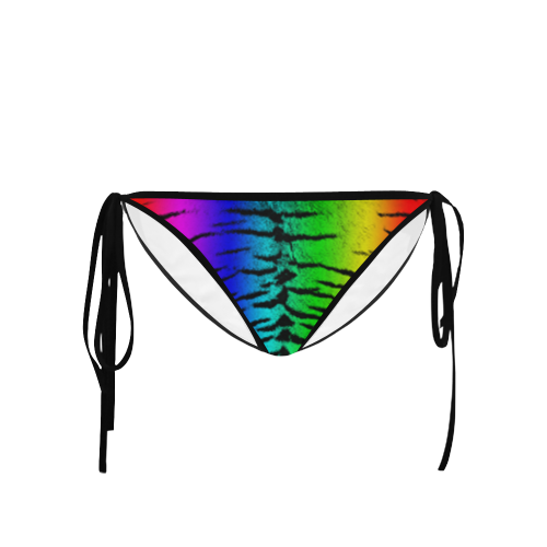 Rainbow Tiger Custom Bikini Bottom