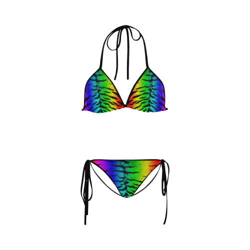 Rainbow Tiger Custon Bikini Set