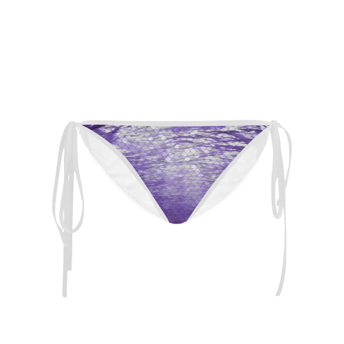 Purple Snakeskin Lake Custom Bikini Bottom