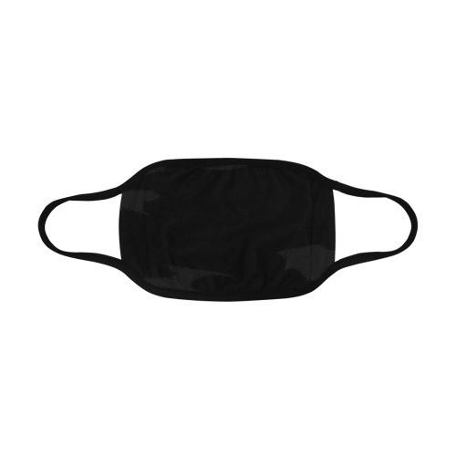 Black Camo Mouth Mask