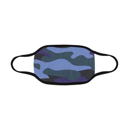 Blue Camo Mouth Mask