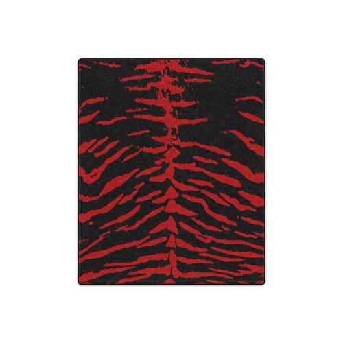 Red Tiger Blanket