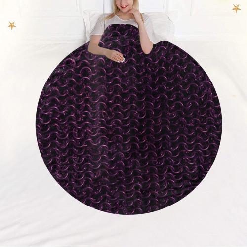 Chainmail Circular Blanket