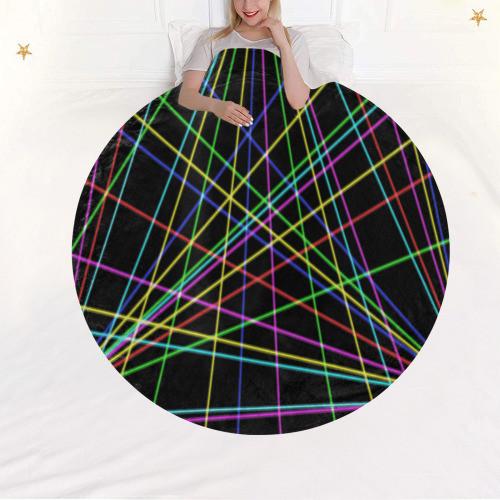 Neon Circular Blanket