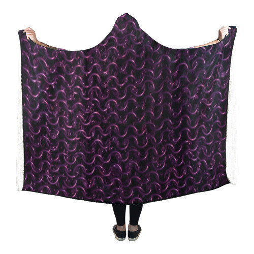 Chainmail Hooded Blanket